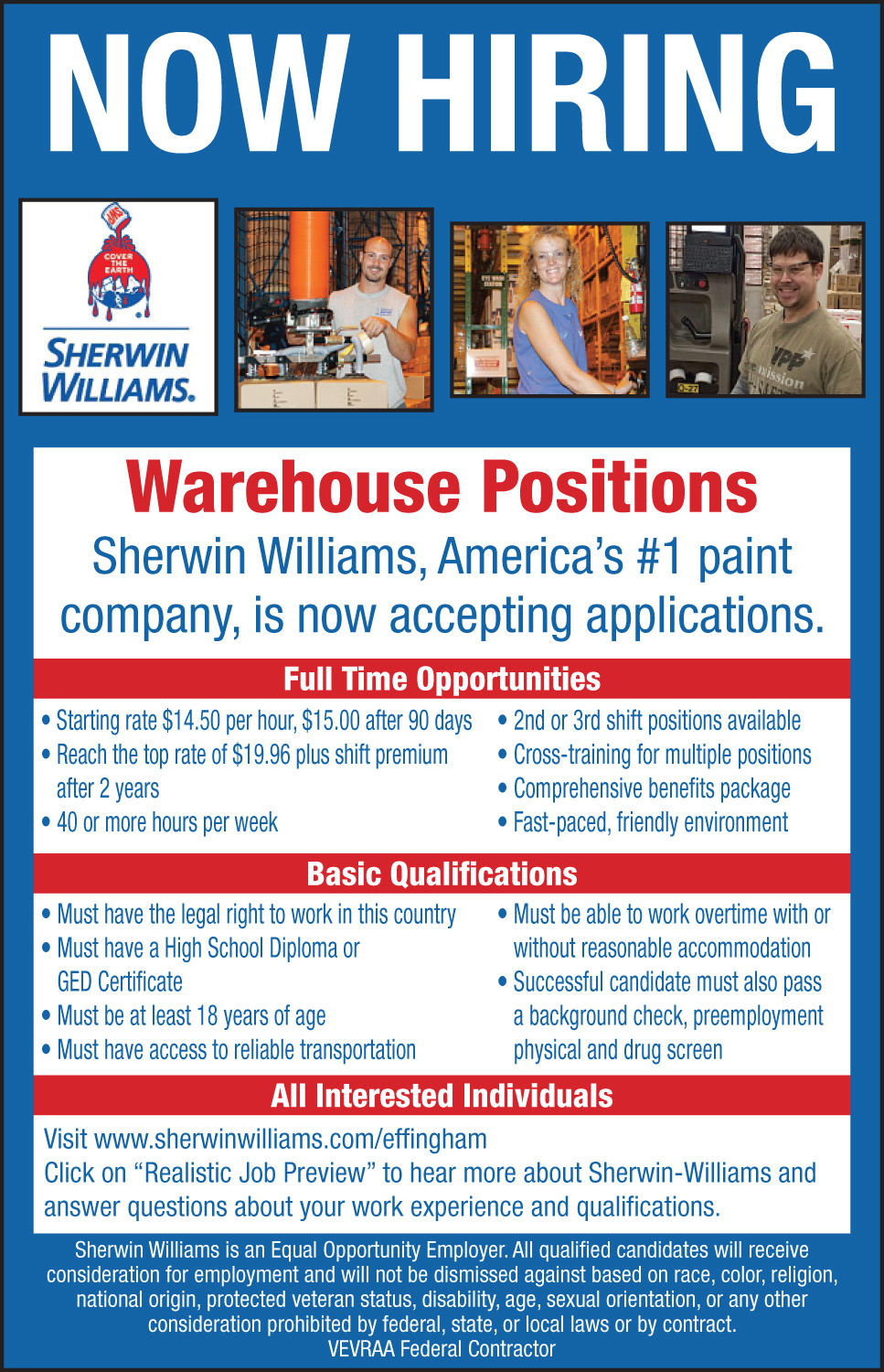 Now Hiring Open Positions In Central Illinois Jobs